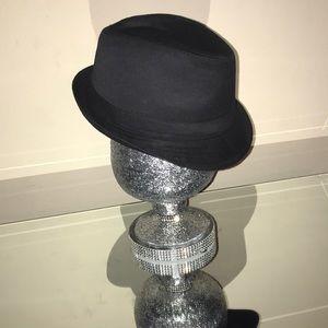 Black Fedora women's hat